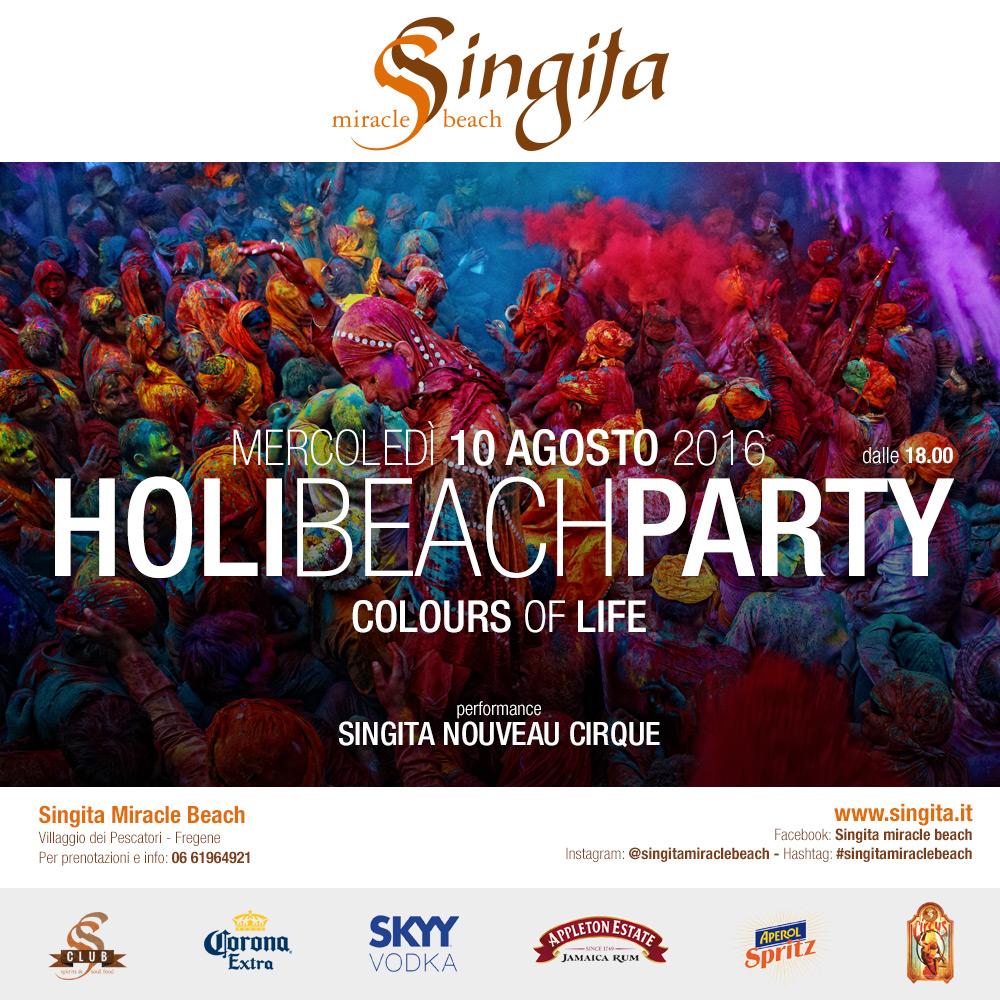 HOLI BEACH PARTY