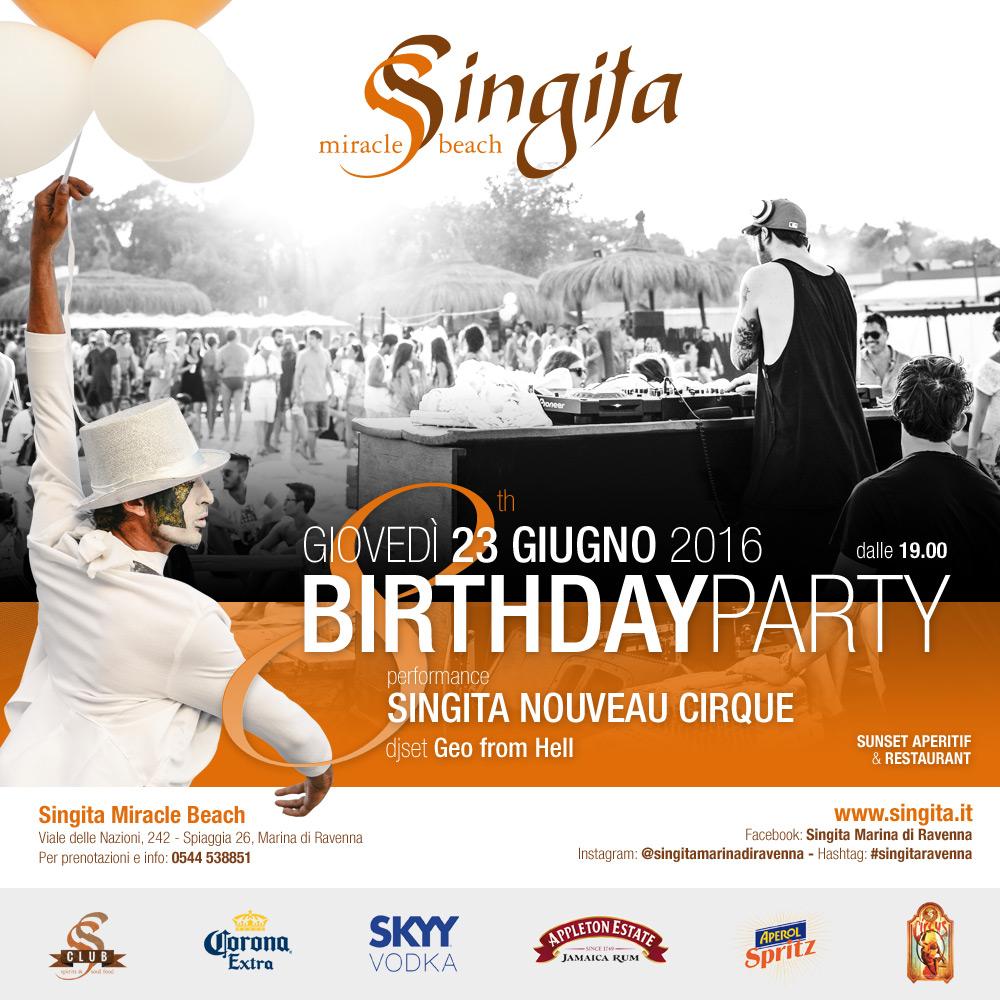 8th SINGITA BIRTHDAY PARTY