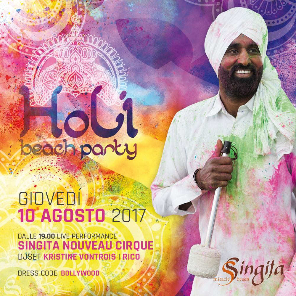 HOLI BEACH PARTY