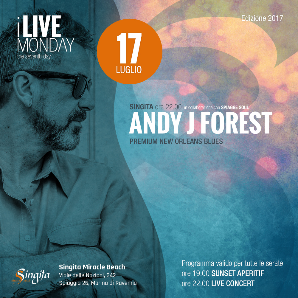 ANDY J FOREST - live