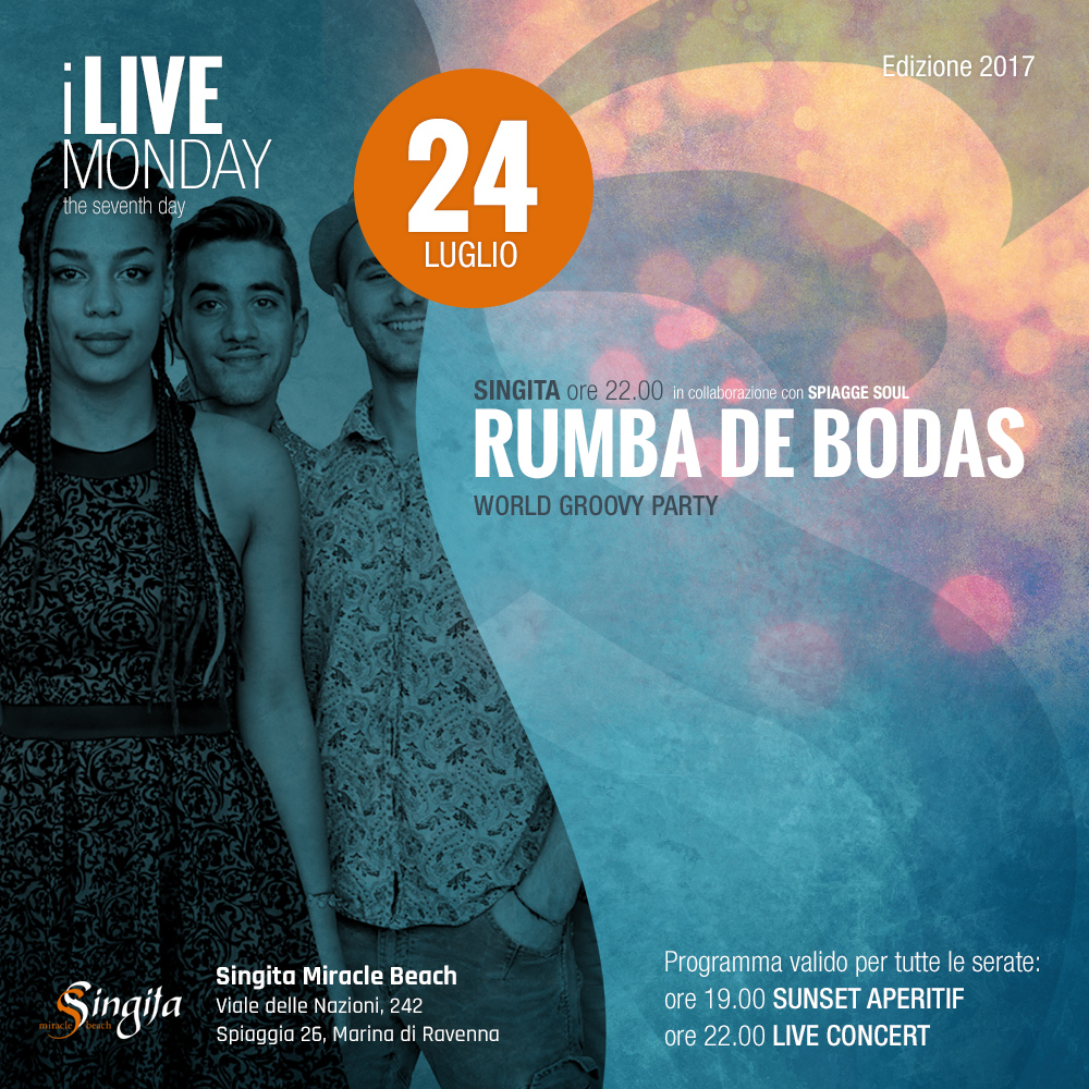 RUMBA DE BODAS - live