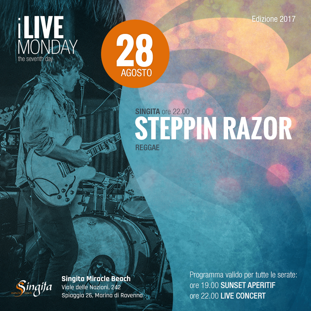 STEPPIN RAZOR - live
