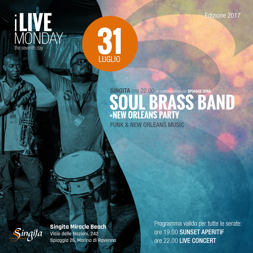 SOUL BRASS BAND - live