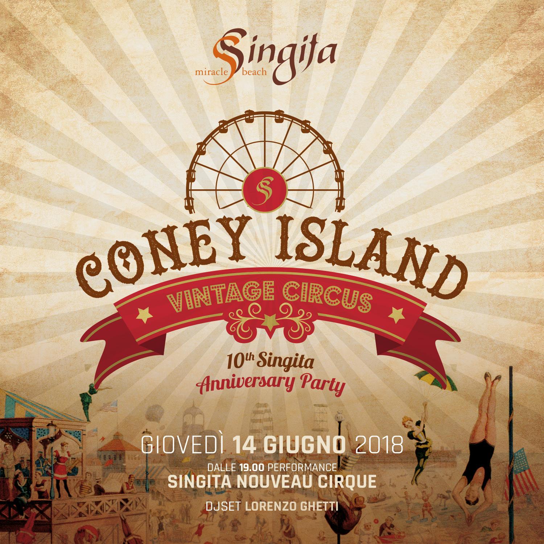 CONEY ISLAND VINTAGE CIRCUS
