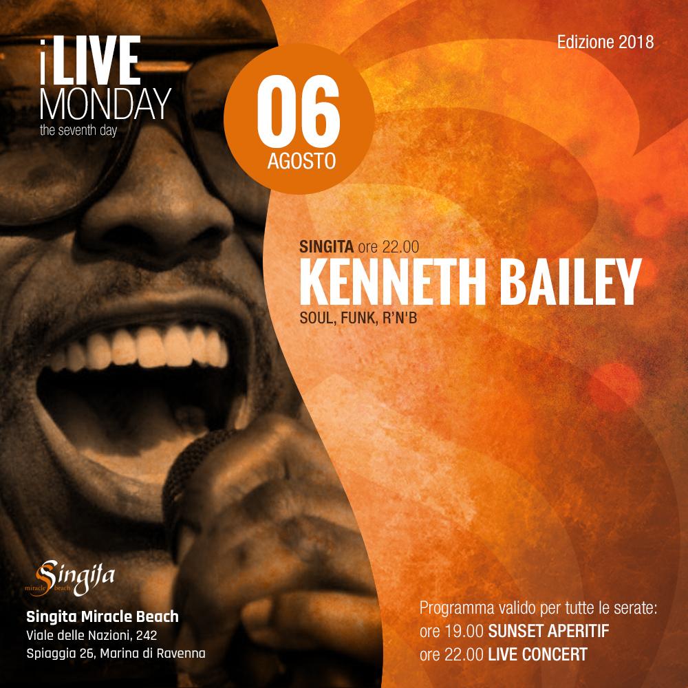 KENNETH BAILEY - live