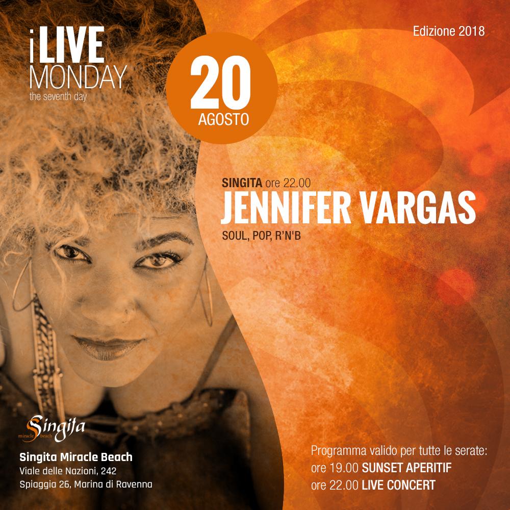 JENNIFER VARGAS - live
