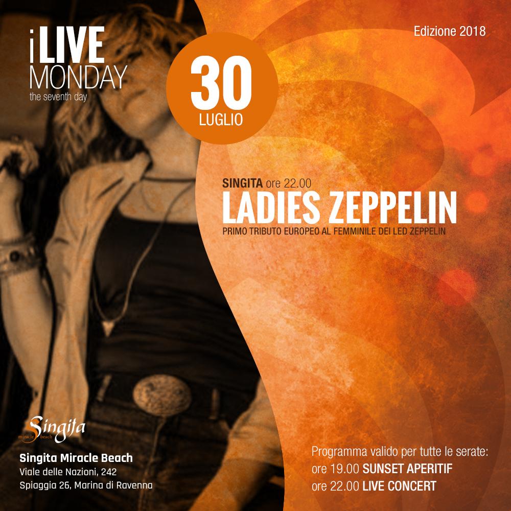 LADIES ZEPPELIN - live